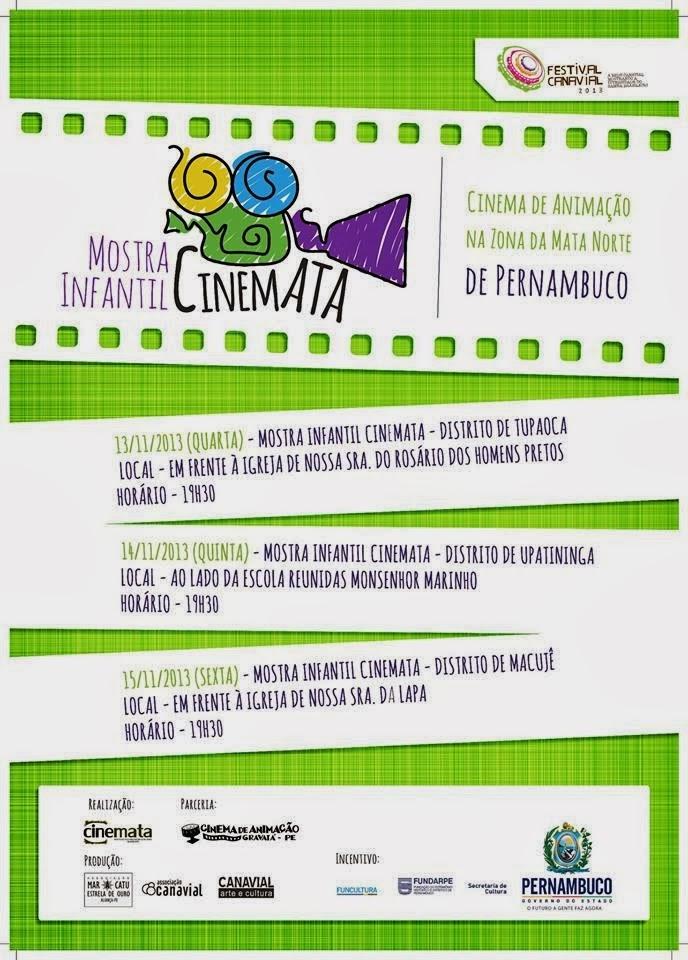 Cartaz I Mostra Infantil Cinemata