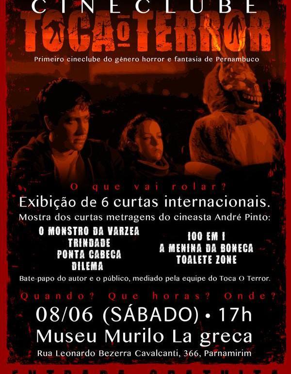 Cineclube Toca o Terror 08.06.13 Recife-PE