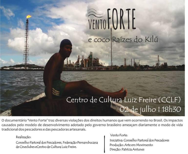 Sessão com doc Vento Forte - CCLF FEPEC 2015