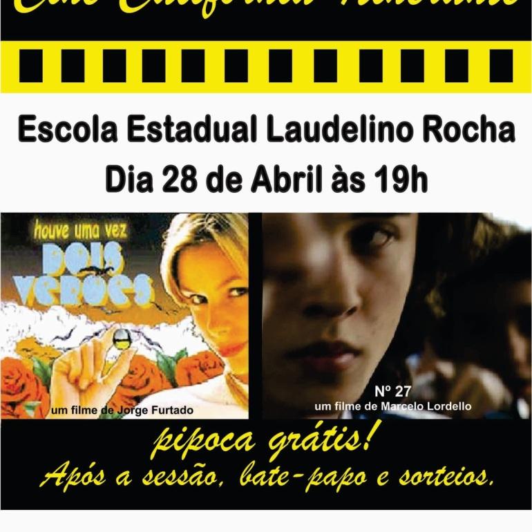 cartaz cine california itinerante Laudelino Rocha 2011